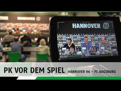 Re-LIVE: Die PK vor dem Spiel | Hannover 96 - FC Augsburg