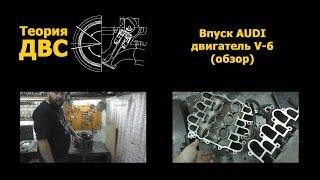 Теория ДВС: Впуск AUDI двигатель V-6 (обзор)(Обсудить видео и задать вопросы можно тут: http://forum.teoria-dvs.com/viewtopic.php?f=8&t=41 Теория ДВС., 2014-10-16T11:36:17.000Z)
