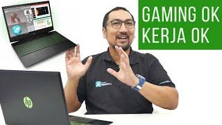 Gaming Bisa, Editing Cocok, Tampil Pun Berbeda: Review HP Pavilion Gaming 15 - Indonesia