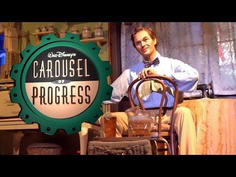 Carousel of ProgressMagic Kingdom POV 4K