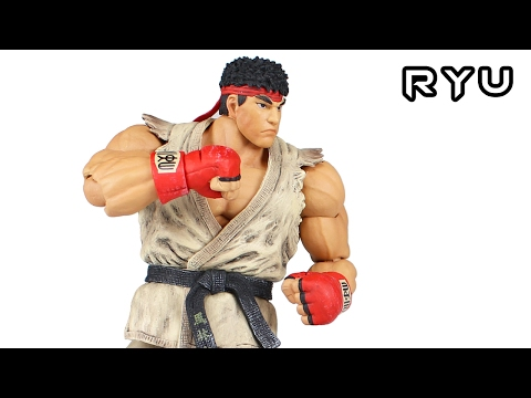 Storm Collectibles RYU Street Fighter V Action Figure Toy Review