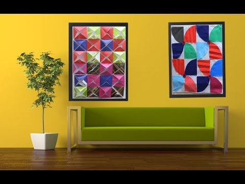 Wall Decor Ideas from Paper Cutting 2 DIY Paper Room Decor Ideas