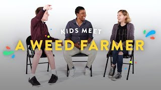 Kids Meet a Weed Farmer | Kids Meet | Cut