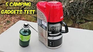 5 Camping Gadgets You Will Love