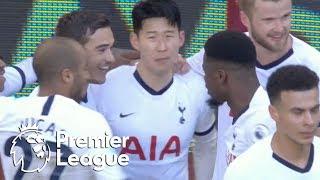 Son gives Tottenham the lead just before halftime against Aston Villa  Premier League  NBC Sports