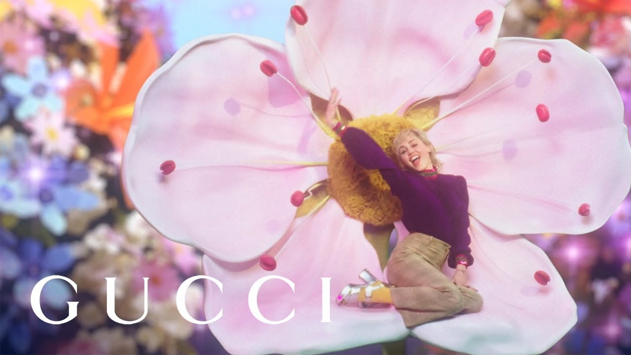 Miley Cyrus in Flora Fantasy