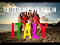 Top 10 places To Visit In Italy  | Best Places To Visit in Italy | Visit in Italy | Travel Italy
