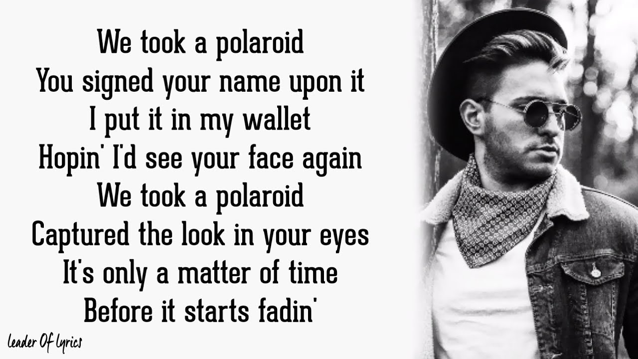 Jonas Blue - POLAROID (Lyrics) ft. Liam Payne, Lennon Stella #1