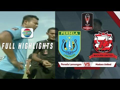 Persela Lamongan (1) vs (2) Madura United - Full Highlight | Piala Presiden 2019
