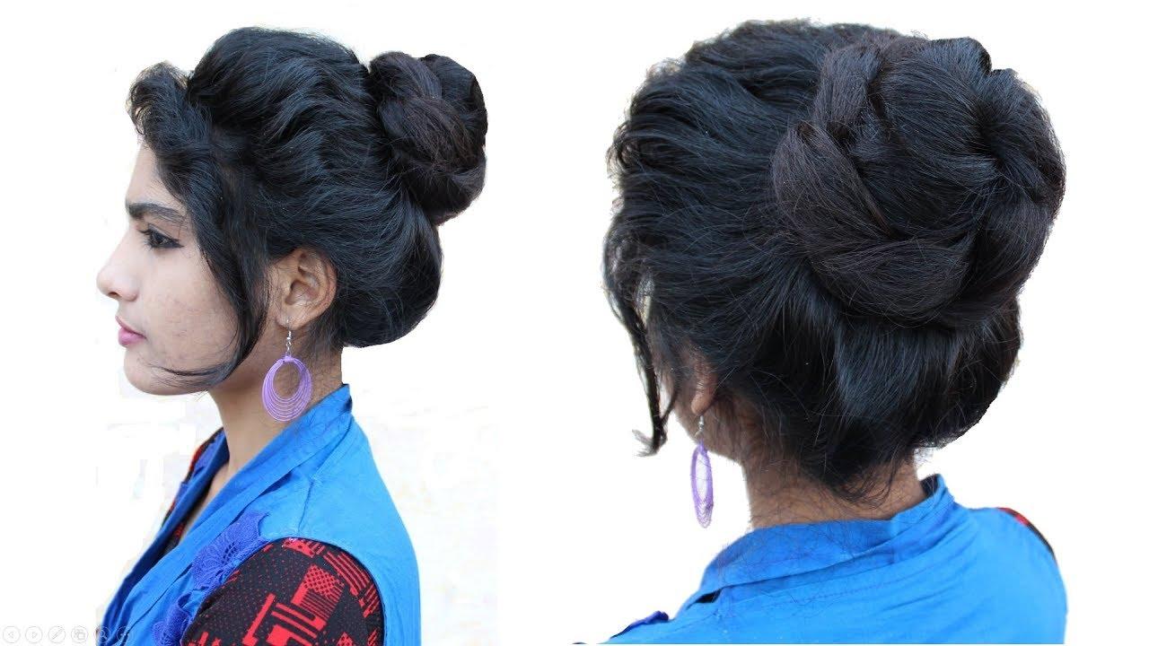 easy messy bun hairstyle || messy bun || juda hairstyle | bridal bun