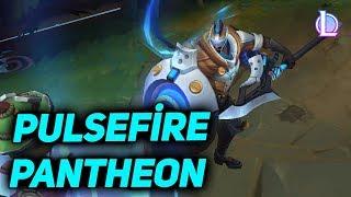 Pulsefire Pantheon Kostüm Tanıtımı - League of Legends