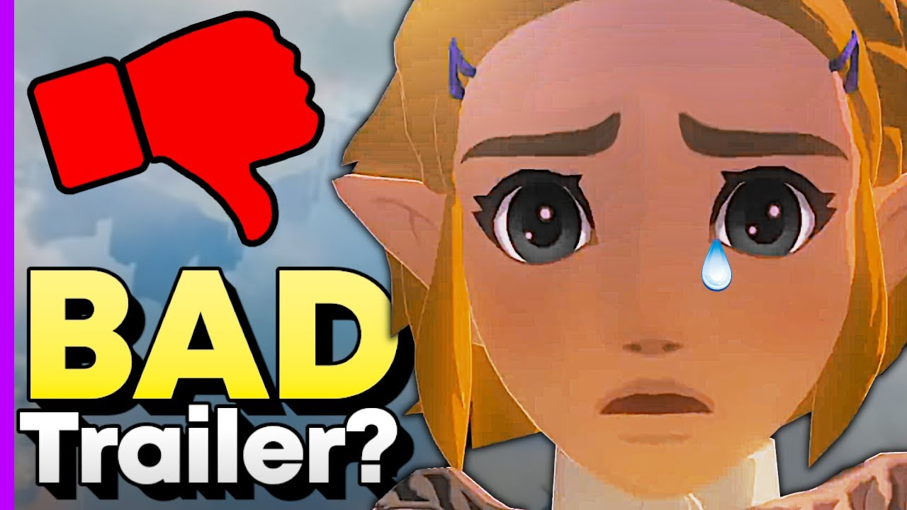 Some People Didn't Like the New Zelda Trailer and Here's Why (Breath of the Wild 2 E3 2021)