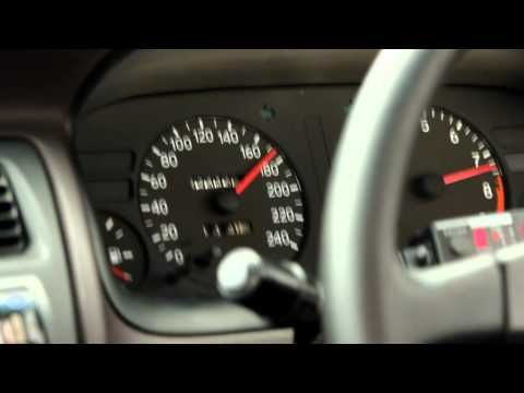 4AGE 20v Blacktop - Full Throttle @ 190kph with 110mm Trumpets