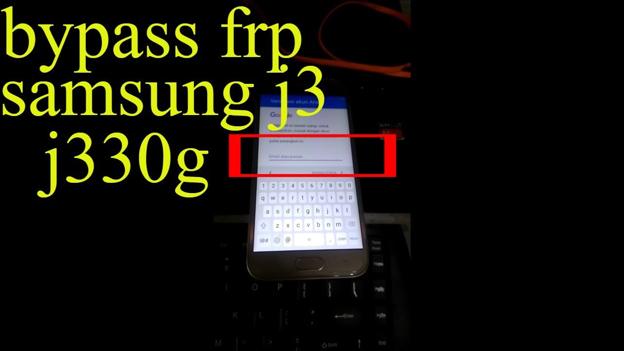 Bypass Account Google Samsung J3 Pro J330g Simple Sukses 100