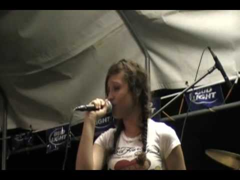 Carrie Underwood Flat on the Floor cover live - Nicole Johnson