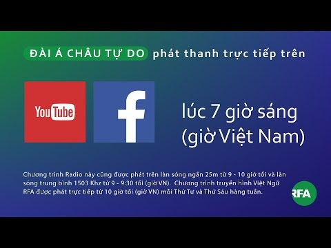 Phát thanh 27/10/2017 © Official RFA Video