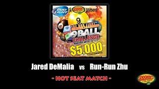 2017 budweiser classic hot seat   jared demalia vs run run zhu