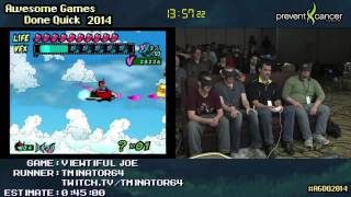 Viewtiful Joe :: SPEED RUN (0:35:53) by tminator64 [GCN]