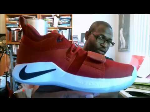 3a6742434429 Nike PG 2.5 Fresno State Bulldogs BQ8452600 Gym Red Dark Obsidian-White