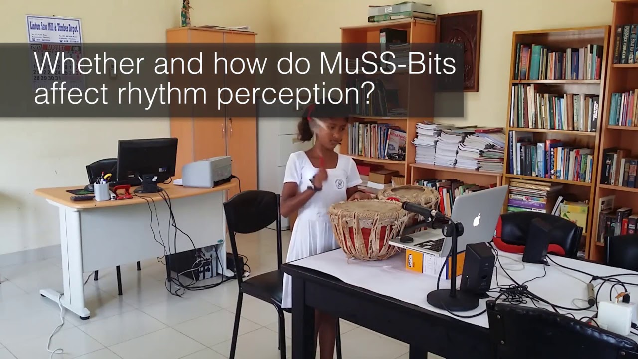Supporting Rhythm Activities of Deaf Children using Music-Sensory