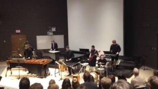 Led Zeppelin Medley - Cambrian Percussion Ensemble 2016