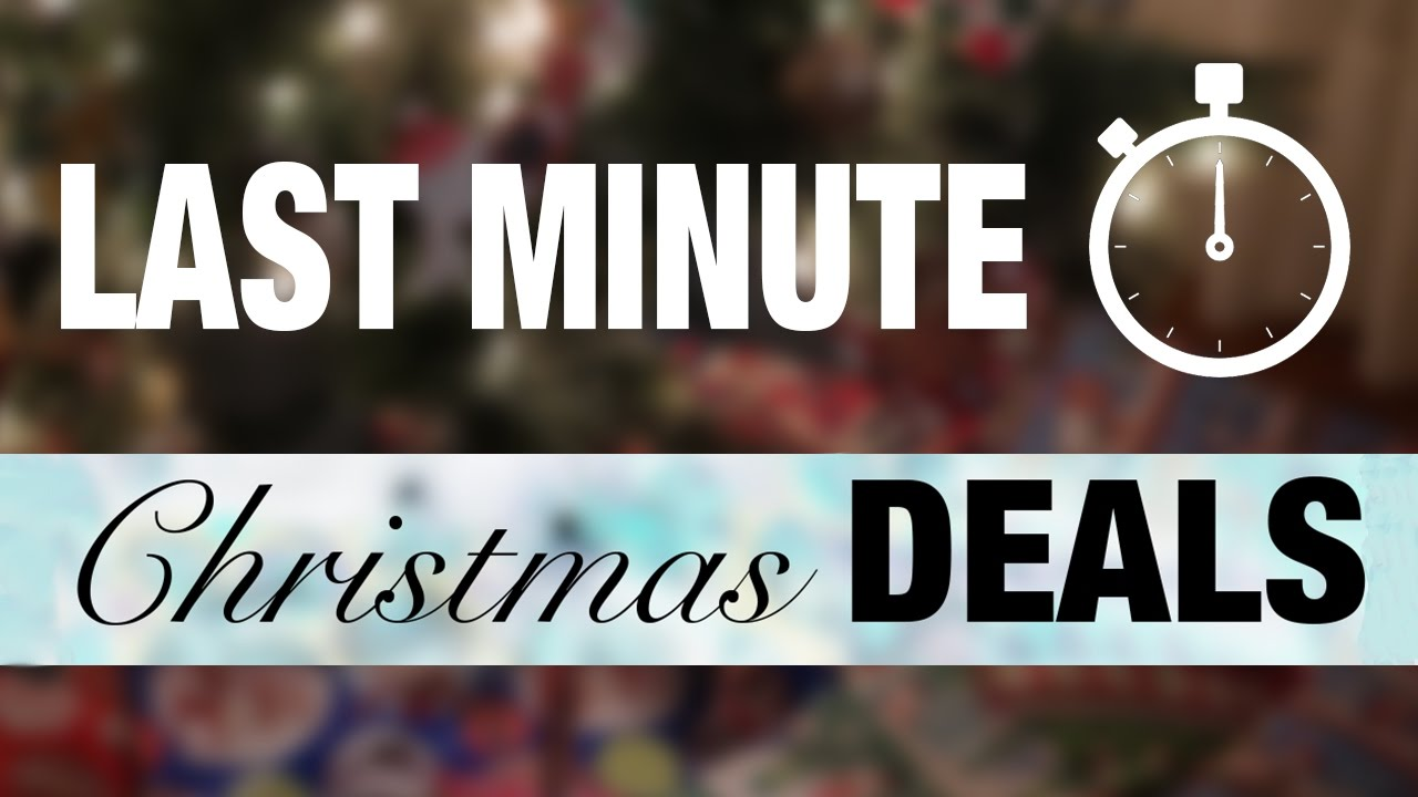 Top 10 Last Minute Christmas Tech Deals Youtube