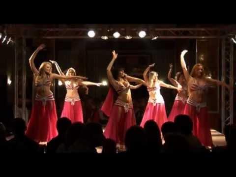 2.Orient Dinnershow 2011 Auftritt Schülerensemble Cleopatra - Bauchtanz Leipzig Amazone Media