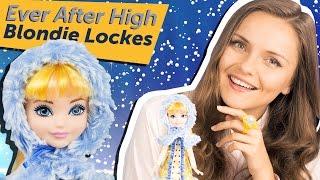 Blondie Lockes Epic Winter (Блонди Локс Заколдованная Зима) Ever After High Обзор и Распаковка DKR66