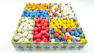Коробка сюрприз, ищем игрушки из детских мультиков