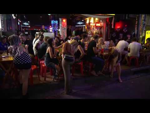 Khaosan Road by Night, Visit Thailand 3