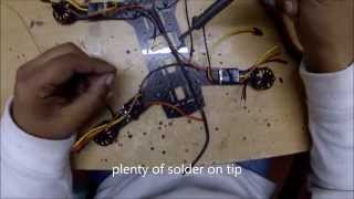 """250 Mini H Quadcopter Scratch Build """"how to build"""" GoPro Hero 4 Black HD"""