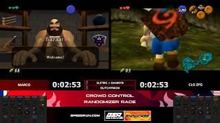 Marco vs CLG Zfg | Ocarina of Time Crowd Control Randomizer Speedrun Race