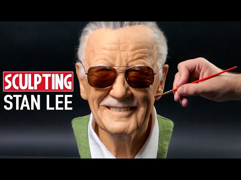 Stan Lee Sculpture Timelapse