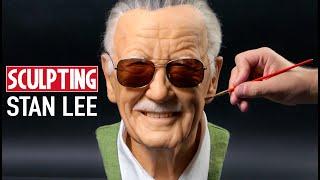 Stan Lee Sculpture Timelapse