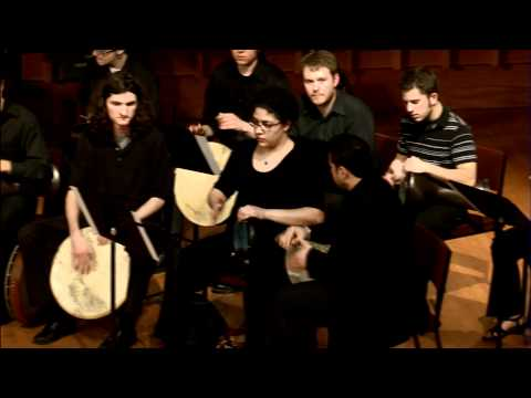Middle Eastern Music Ensemble - Omar Al Musfi - Percussion Group Solo