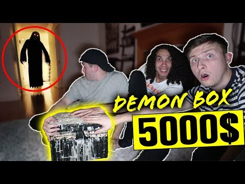 LAST TO TOUCH DYBBUK BOX WINS 5000$ CASH!!! *DEMON COMES ALIVE*