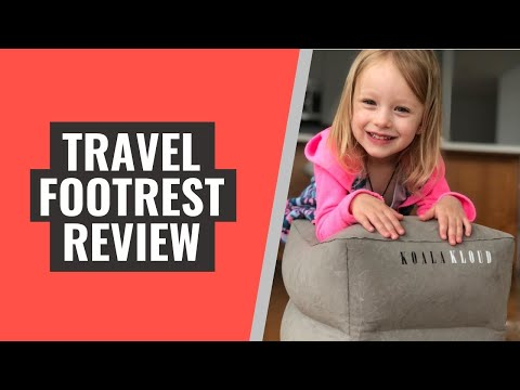 Koala Kloud Foot Rest For Airplane - Real Customer Reviews