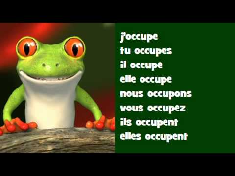 Conjugaison Musicale Indicatif Present Verbe Occuper Youtube