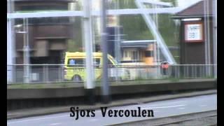 TS23-1, AL44-1 & Ambulance 17-143 PRIO1 / A1 gebouwbrand Rotterdam