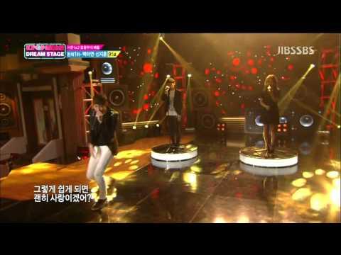 130414 Lee Hi & 2000 Won - Love The Way You Lie @ Kpop Star Dream Stage