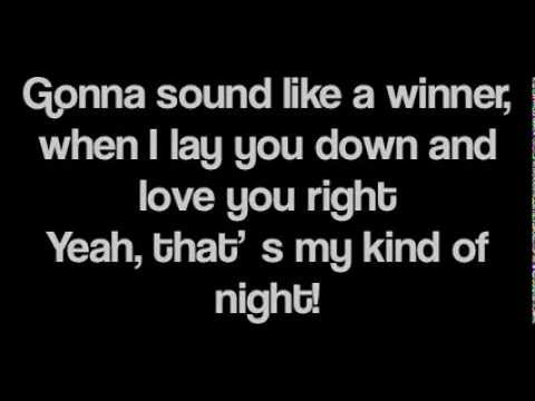 Luke Bryan - Thats My Kind Of Night ( Lyrics )