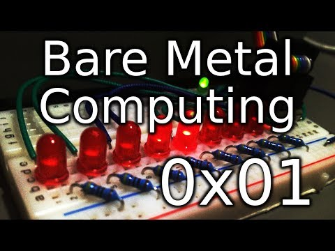 Bare Metal Computing 0x01 - Output and Busy Waiting