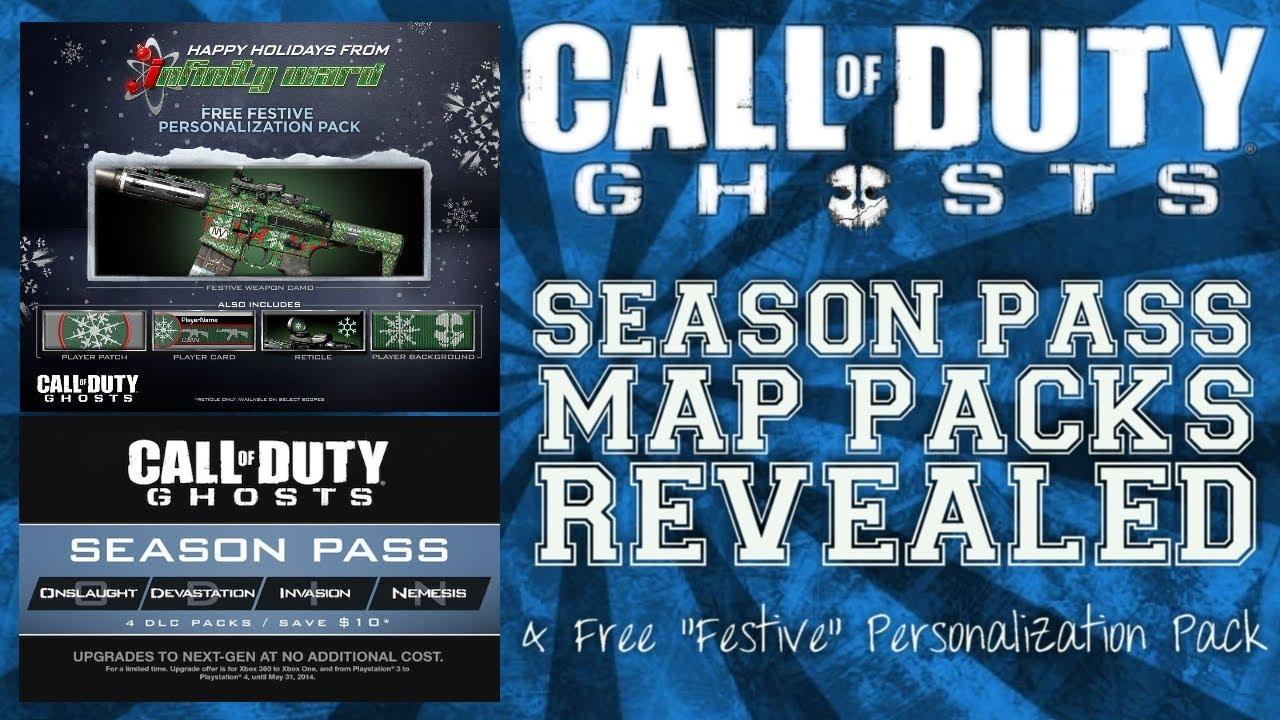 call of duty ghosts season pass free