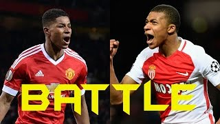 Player battle►marcus rashford vs kylian mbappe 2016/17 hd skills●asists●goals●who is better?