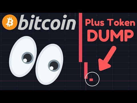 EMERGENCY UPDATE!! BITCOIN DUMP BECAUSE OF PLUS TOKEN SELL OFF???