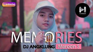 Download DJ ANGKLUNG MAROON 5 MEMORIES x PUTIH ABU ABU COVER CHERYLL