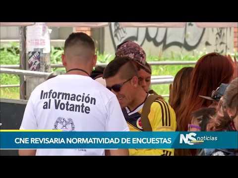 Consejo Nacional Electoral revisará normatividad vigente a firmas encuestadoras