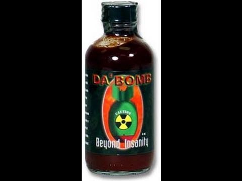 Hot Sauce Review : Da Bomb Ground Zero (234,000 Scoville)