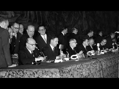 Treaty Of Rome 60 Year Anniversary Youtube