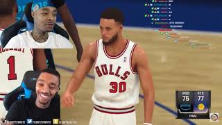FlightReacts Most Clutch NBA 2K Moments Reaction!